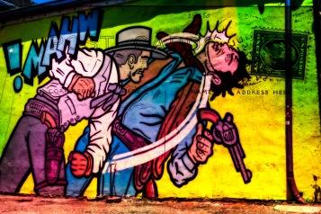 Wish You Were Here - Street Art