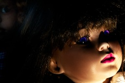 Vintage Doll: Footlights