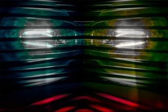 Abstract macro light bulbs