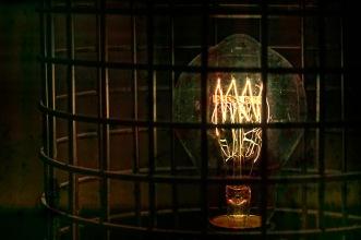 Tesla: Abstract Light Bulb