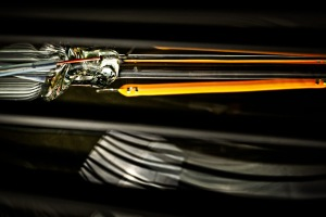 Dragonfly Overdrive - abstract macro light filament