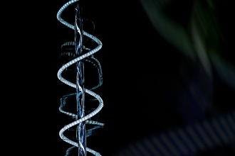 Helix: : Abstract Light Bulb Filament