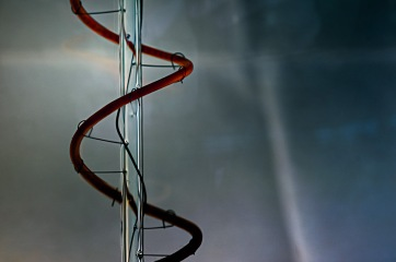 Stairway to Heaven - abstract macro light filament