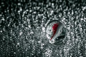 Silver Screen - Marble in Rain