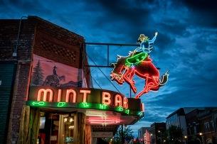 Mint Bar Neon - Sheridan WY