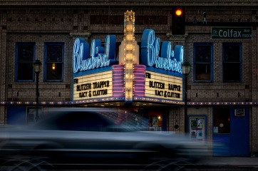 Colfax - Bluebird Theatre Neon, Denver CO