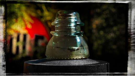 Insulation: Antique Insulator, Classical Gas Museum