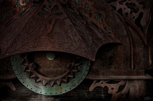 Omen - Ironwork - Art Photography