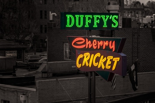 Duffy's Cherry Cricket Neon - Denver CO
