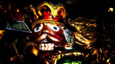 Nutcracker King - Abstract Christmas Ornament, Union Station, Denver