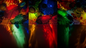 Wall of Sound - Abstract Glass