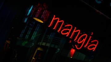 Mangia: Neon, Downtown Denver