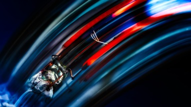 Event-Horizon - Abstract Edison Bulb