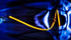 Voyager - abstract macro edison bulb
