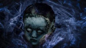 Rhapsody in Blue: Antique Doll