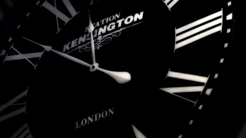 Antique Clock - Kensington Station