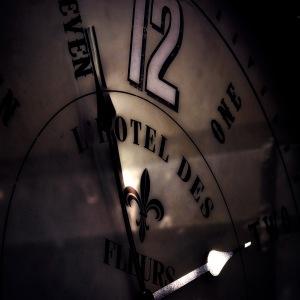 Antique Clock - L'Hotel des Fleurs